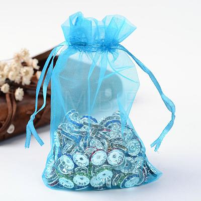 Organza Gift Bags with DrawstringOP-R016-10x15cm-17-1