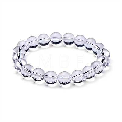 SUNNYCLUE® Natural Crystal Round Beads Stretch Bracelets BJEW-PH0001-10mm-07-1