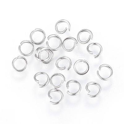 304 Stainless Steel Open Jump Rings STAS-F110-08P-1