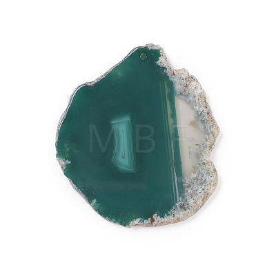 Natural Agate Pendants G-F646-02H-1