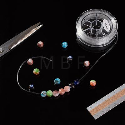Flat Elastic Crystal StringEW-G008-01-0.8mm-1