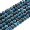 Natural Apatite Beads StrandsG-E561-03-8mm-1