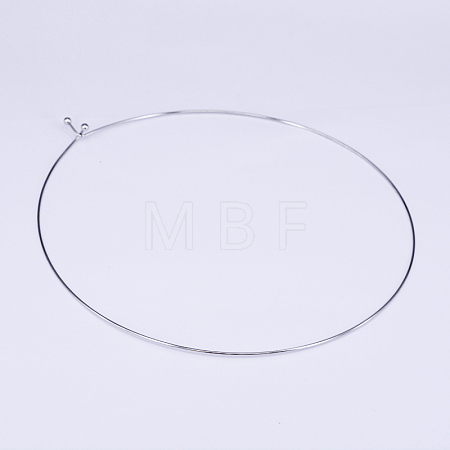304 Stainless Steel Choker NecklacesNJEW-O094-12P-1
