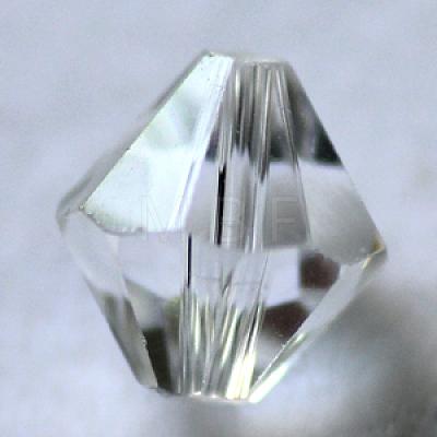 Imitation Austrian Crystal BeadsSWAR-F022-6x6mm-M-1
