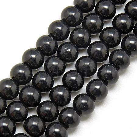 Glass Beads StrandsGR6mm27Y-1