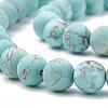 Natural Green Turquoise Beads StrandsG-T106-185-2