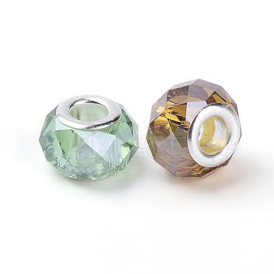 Pearlized Glass European BeadsGDA002-1